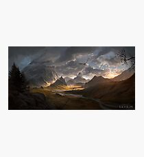 Skyrim - Landscape Photographic Print
