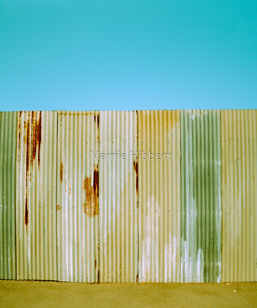 Corrugated Wall by Marnie Hibbert
