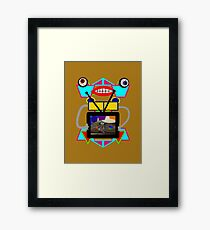 Somebody Bought a New TV! Framed Print
