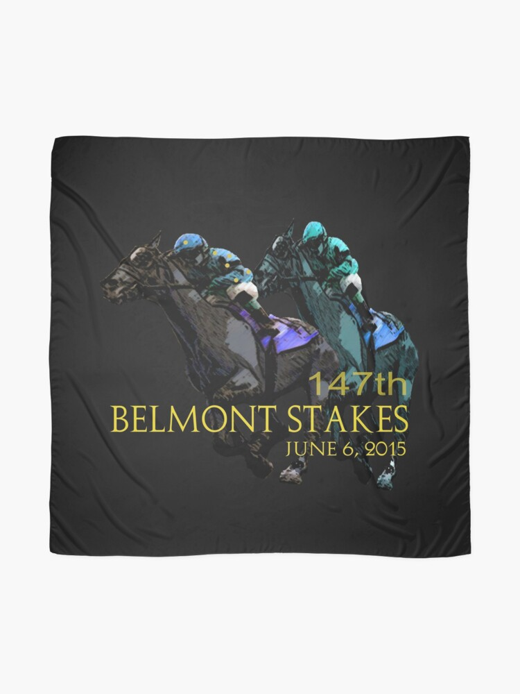 Alternate view of 147th Belmont Stakes 2015 Scarf