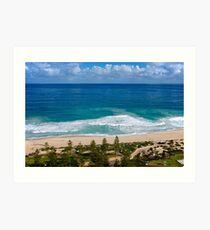 Beautiful Scarborough Beach, Perth Art Print