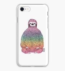 Yoga Rainbow Sloth iPhone Case/Skin