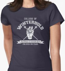 Skyrim - College of Winterhold Womens Fitted T-Shirt