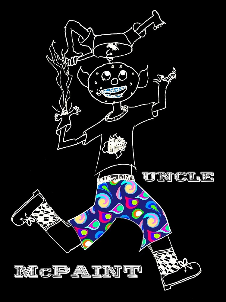 Uncle McPaint At Play by Uncle McPaint