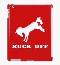 Buck Off iPad Case/Skin