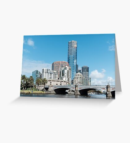 Eureka Tower, Melbourne, Australia Greeting Card