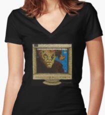 I, Robot... You, Jane - Malcolm/Moloch - BtVS Women's Fitted V-Neck T-Shirt