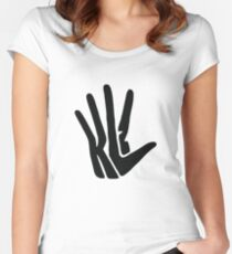 Kawhi Anthony Leonard Hands  Women's Fitted Scoop T-Shirt