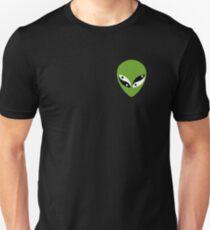 Yin Yang Alien Unisex T-Shirt