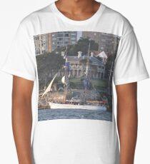 Australia Day 2013 - Tall Ship & Kirribilli House Long T-Shirt