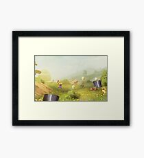 Plumber Summer Framed Print