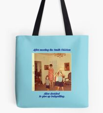 The Babysitter Blues Tote Bag