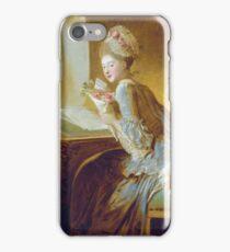 Jean-Honore Fragonard - The Love Letter 1770 iPhone Case/Skin