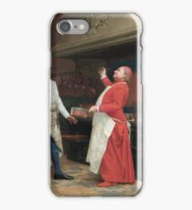 Jehan Georges Vibert - The Marvelous Sauce iPhone Case/Skin