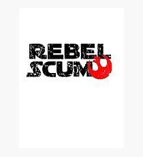 Rebel Scum: The T-Shirt Photographic Print