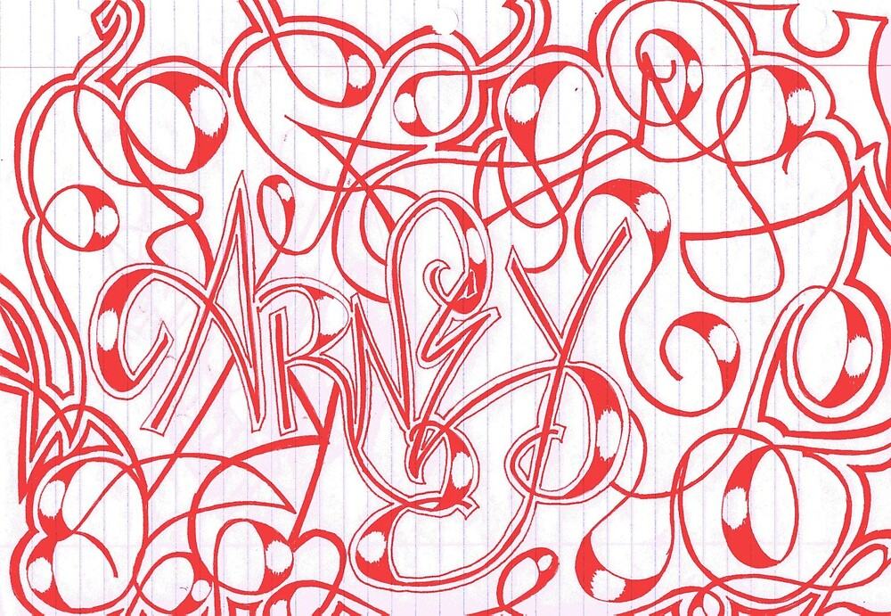Arney Drawing by NAdjaRani88