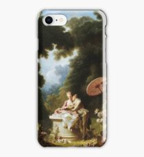 Jean-Honore Fragonard - Love Letters iPhone Case/Skin