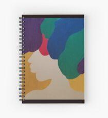 Mardi Gras Afro II Spiral Notebook