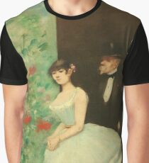 Jean Louis Forain - Behind The Scenes Graphic T-Shirt