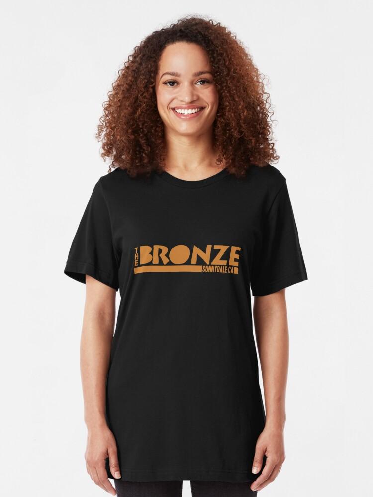 Alternate view of The Bronze, Sunnydale, CA Slim Fit T-Shirt