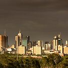 Melbourne Skyline by Frank Yuwono