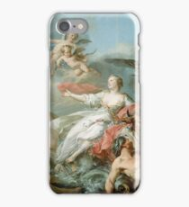 Jean Baptiste Marie Pierre - The Abduction Of Europa iPhone Case/Skin