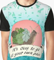 It's Okay to Go at Your Own Pace Graphic T-Shirt