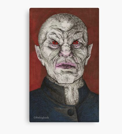 Prophecy Girl - The Master - BtVS Canvas Print