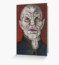 Prophecy Girl - The Master - BtVS Greeting Card