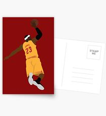 LEBRON JAMES Postcards