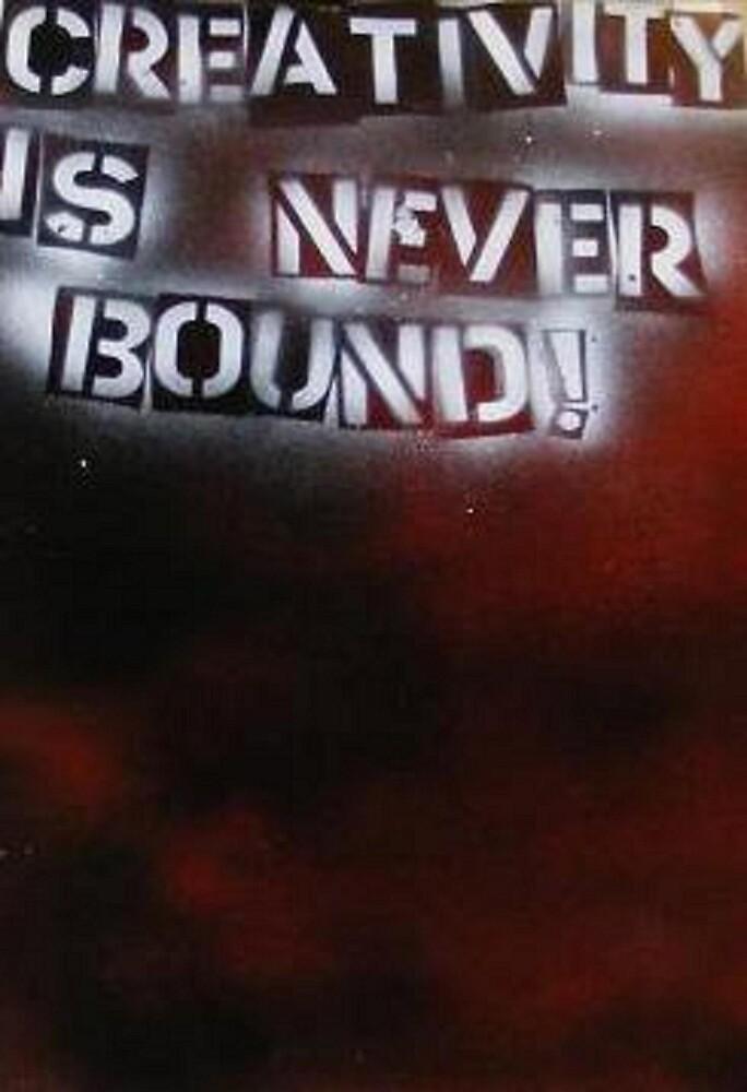 Creativity Is NEVER Bound by Hayden Brown