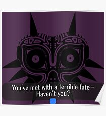 Legend of Zelda - Majora's Mask: Terrible Fate Poster