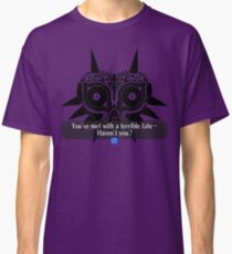 Legend of Zelda - Majora's Mask: Terrible Fate Classic T-Shirt
