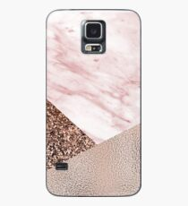 Cotton candy dreams - rose gold Case/Skin for Samsung Galaxy