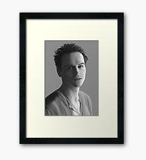 Andrew Scott as Jim Moriarty Framed Print