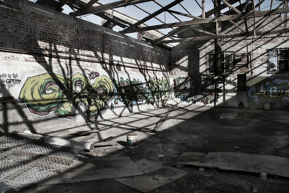 Abandoned Building  #2 by Gavan  Mitchell