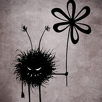 Evil Flower Bug Vintage by azzza
