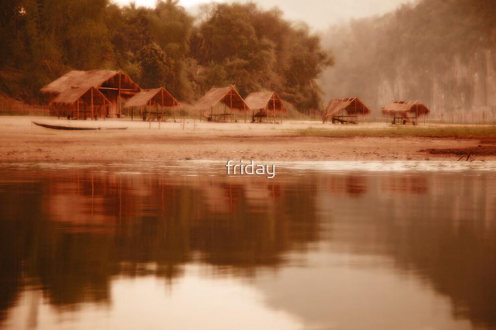 bambo river reflexion by Amagoia  Akarregi
