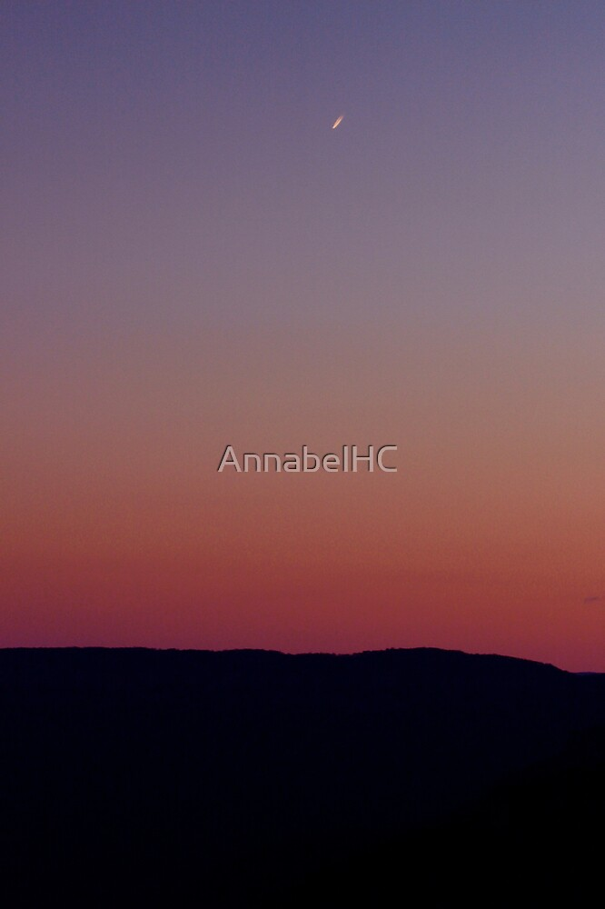 King's Tableland Sunset by AnnabelHC