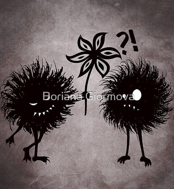 Evil Bugs Being Kind by Boriana Giormova