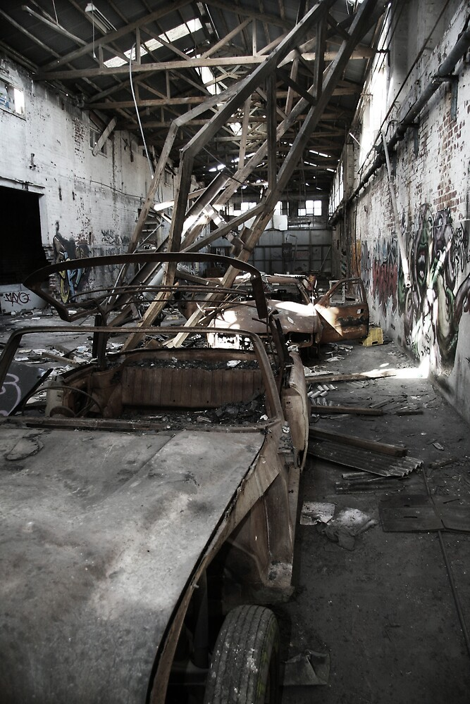 Abandoned Building #6 by Gavan  Mitchell