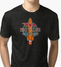 BSA Big Valve Super Rocket Tri-blend T-Shirt