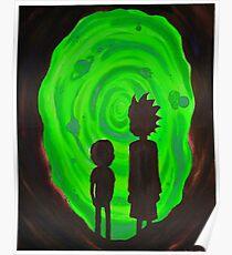 Rick Morty II Poster