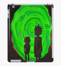 Rick Morty II iPad Case/Skin