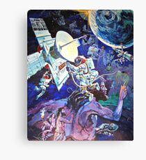 Spaceship Earth Mural Canvas Print