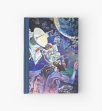 Spaceship Earth Mural Hardcover Journal