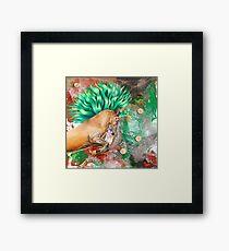 The Emerald Prince Framed Print
