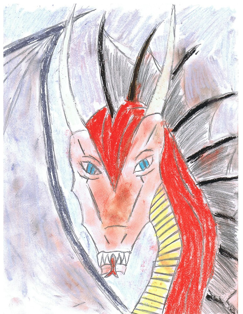 red dragon by dragonart