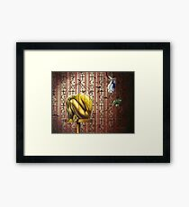 The Canary in the Mind Framed Print