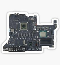 iMac with Retina 5K Display's Logic Board Sticker